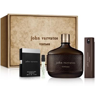 John Varvatos典藏男性香氛禮盒-送紙袋+針管隨機款