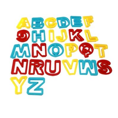 英文字母26件組 TUMBLING SAND 翻滾動力沙玩沙模具