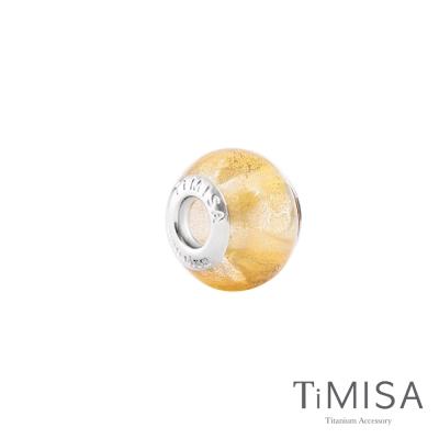 TiMISA《月暈( 11 mm)》純鈦琉璃 墜飾串珠