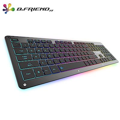 B.FRIEND GK5剪刀腳有線遊戲鍵盤(RGB)