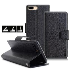 XM iPhone 8 Plus / 7 Plus 5.5吋 品味時尚牛皮支架皮套