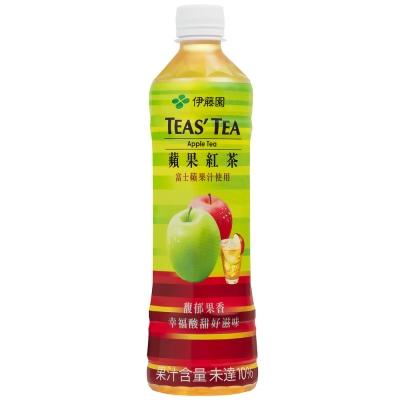 伊藤園 TEAS TEA蘋果紅茶(530ml)