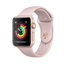 Apple Watch Series 3 GPS,38mm金色鋁金屬錶殼/粉沙色運動錶帶