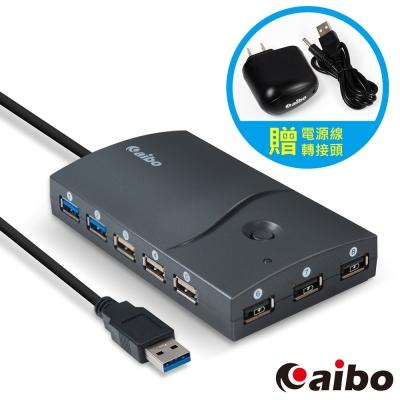 aibo USB3.0 智能快速充電13埠HUB集線器 (附AC轉USB充電器)