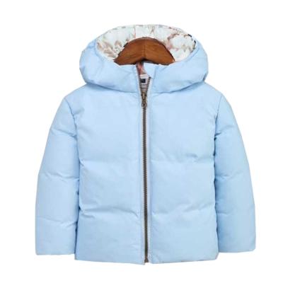 輕量極保暖80%羽絨外套 淺藍 k60327
