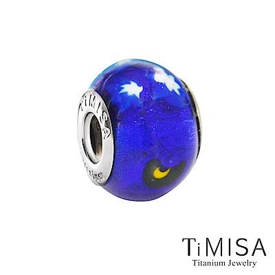 TiMISA 星空(11mm)純鈦琉璃 墜飾串珠