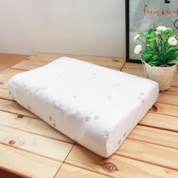 鴻宇HongYew 美國棉授權 防蹣抗菌護頸型乳膠枕