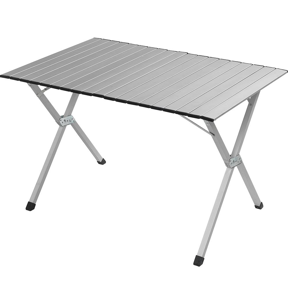 ATUNAS歐都納XYT-010鋁合金蛋捲桌A-D1501灰鋁