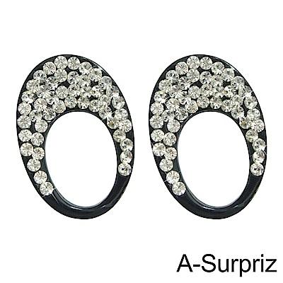 A-Surpriz 戀愛圓舞曲晶鑽耳環