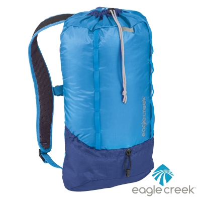美國Eagle Creek RFID超輕量防撕裂雙肩後背包13L(北卡藍)