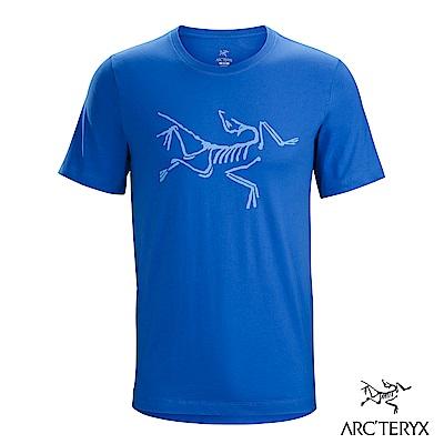 Arcteryx 始祖鳥 24系列 男 Archaeopteryx 短袖T恤 藍