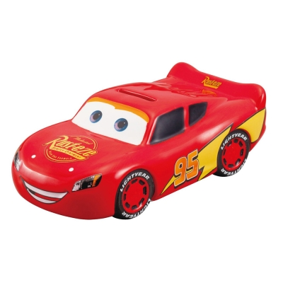 sun-star-迪士尼CARS造型陶磁小巧存錢筒