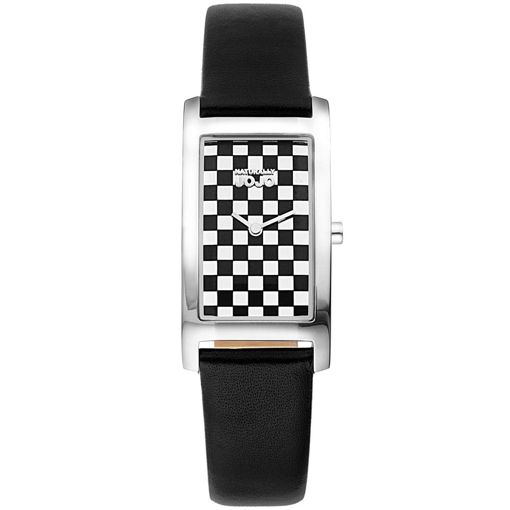 NATURALLY JOJO 城市經典時尚腕錶-銀/33mm