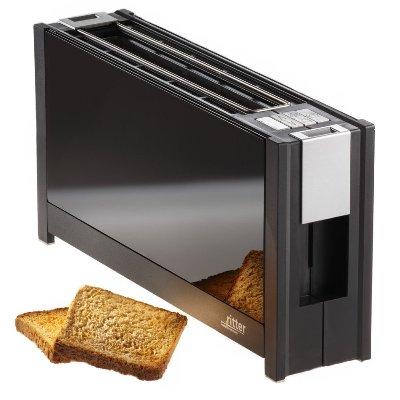德國原裝 ritter volcano 5 晶湛強化玻璃(湛黑) 烤麵包美型機