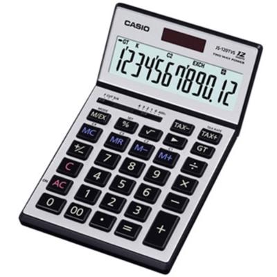 Casio卡西歐  JS-120TVS-SR 12位稅率計算機
