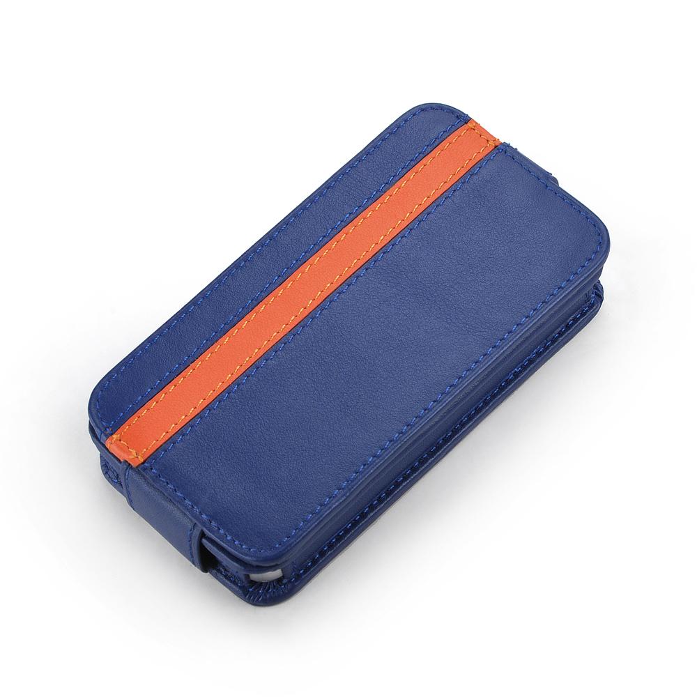 皮套王精品手工 Style-D2 PDA式下蓋側邊拼皮 客製化皮套
