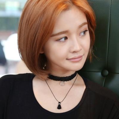 梨花HaNA  韓國空運雙層流蘇蕾絲漂亮頸鍊CHOKER