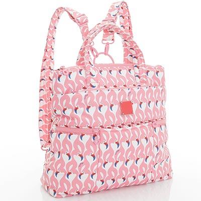 VOVAROVA空氣包-多way後背包-粉粉紅鶴