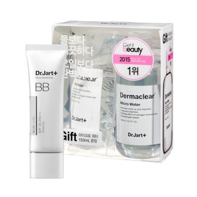 Dr.Jart極緻柔焦BB霜白瓶升級版活性水分子保濕礦泉卸妝水限量加大組