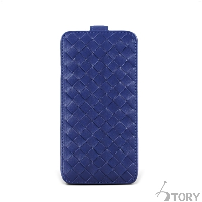 STORY皮套王 SAMSUNG S6 硬殼式下蓋編織 客製化皮套