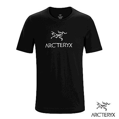 Arcteryx 24系列 男 LOGO 有機棉 短袖T恤 黑