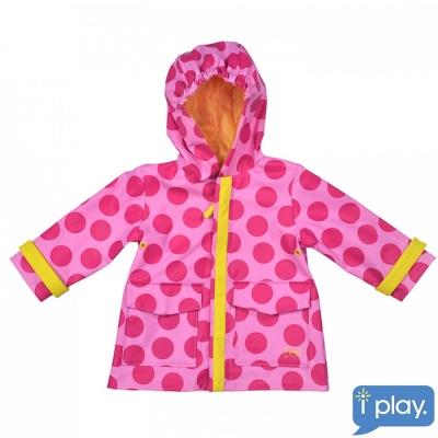 i play粉紅點點雨衣