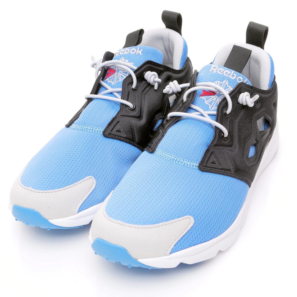 REEBOK-FURYLITE男慢跑鞋-藍