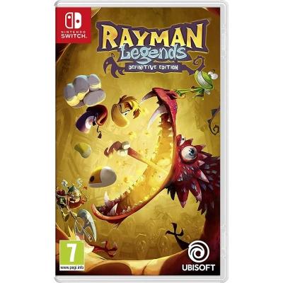 雷射超人:傳奇 決定版 RAYMAN - Nintendo Switch 英文歐版