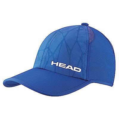HEAD奧地利 透氣排汗網布 輕量運動帽-藍 287068
