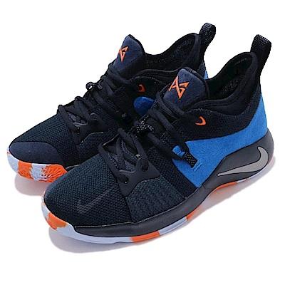 Nike 籃球鞋 PG 2 OKC 大童 女鞋