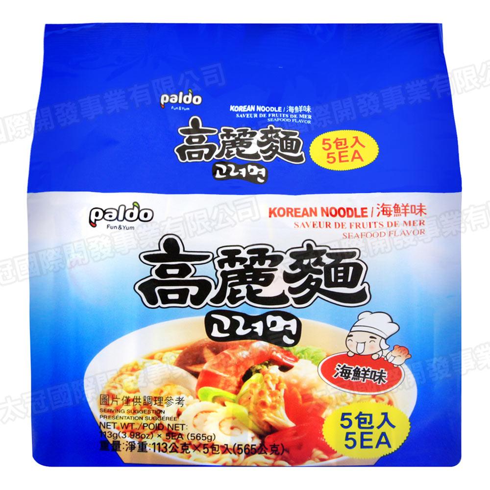 Paldo 韓國高麗麵-海鮮味(113gx5包)