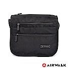 【AIRWALK】品味層次休閒側背包-黑色
