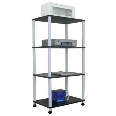 Dr. DIY 寬60公分-四層長管-置物架/電器架(三色可選)