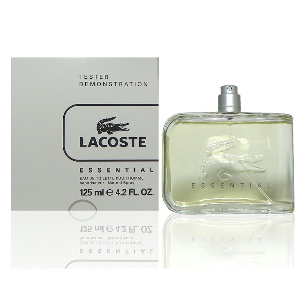 Lacoste Essential 異想世界淡香水125 ml Tester 包裝