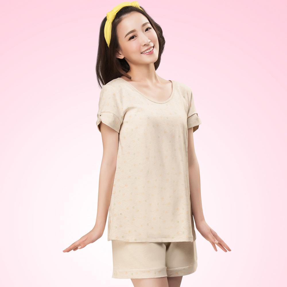 嬪婷 學生內衣 有機原棉 第三階段 M-L 家居服(朝氣黃)