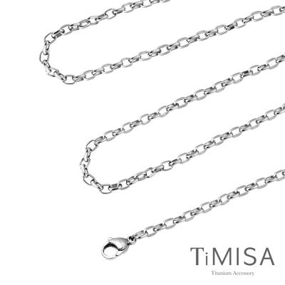 TiMISA《動感(M)》純鈦項鍊