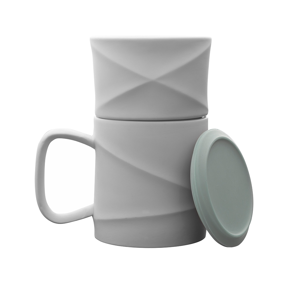 TOAST WAVE 咖啡馬克杯組(湖綠)