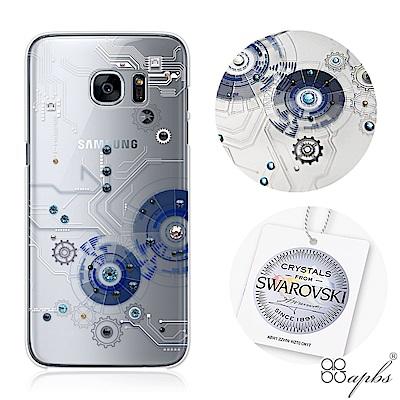 apbs Samsung S7&S7edge 施華洛世奇彩鑽手機殼-驅動