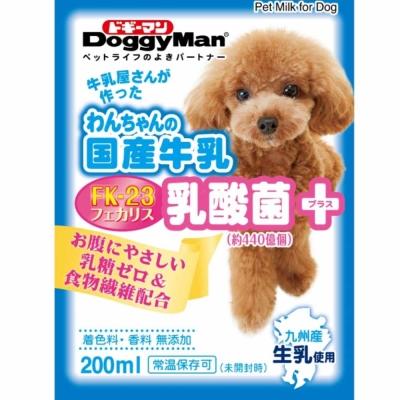 Doggyman 犬用國產乳酸菌添加牛乳 200ml