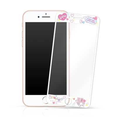 My Melody鋼化玻璃保護貼 iPhone 6/7/8 4.7吋共用