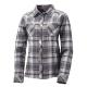【ATUNAS 歐都納】女款保暖彈性長袖襯衫 A-S1111W 灰格 product thumbnail 1