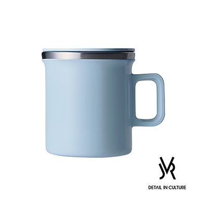 JVR 韓國原裝 MONO MUG馬卡龍不銹鋼馬克杯360ml-共5色