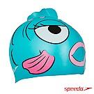 SPEEDO 幼童矽膠泳帽 Sea Squad 金魚藍