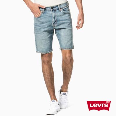 Levis 505淺藍直筒丹寧牛仔短褲