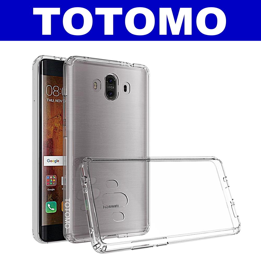 TOTOMO  For:華為Mate10 防摔保護殼(高顏質超透感硬背板)-全透