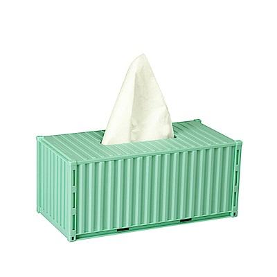 MUID貨櫃屋面紙盒 裝集箱紙抽盒(DIY組裝)