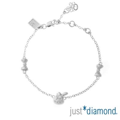 Just Diamond 18K金鑽石手鍊-Bonjour! My Melody俏麗蝴蝶