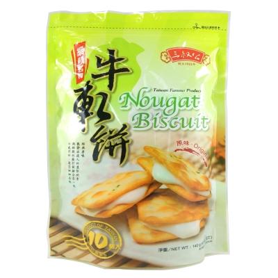 三叔公 牛軋餅-原味(140g)