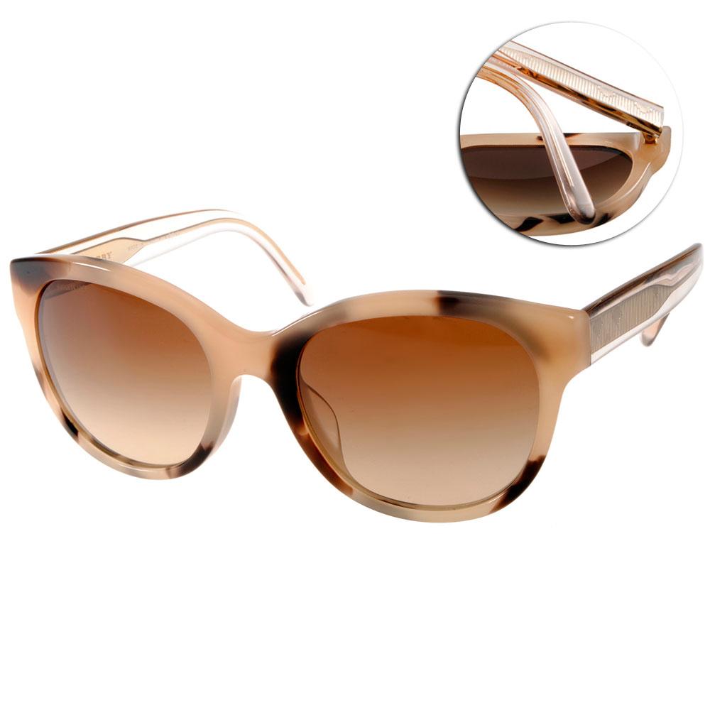 BURBERRY太陽眼鏡 歐美貓眼款/柔琥珀#BU4187F 350213