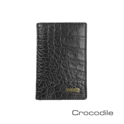 Crocodile-Croco系列鱷魚壓紋名片夾0103-5007